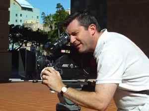 Tim on a 35mm Camera