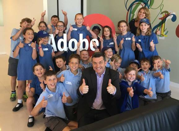 It was a great Adobe Day with students from Cromer Public School.