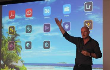 Paul, showing off some of Adobe's great free touch apps