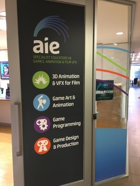 AIE – Academy of Interactive Entertainment | Dr Tim