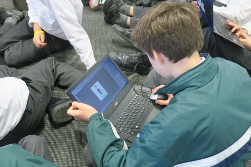 Character Animator with Year 6 at The Geelong College | Dr